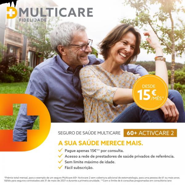 Multicare 60 + SOLUÇÕES PARA A MELHOR FASE DA SUA VIDA