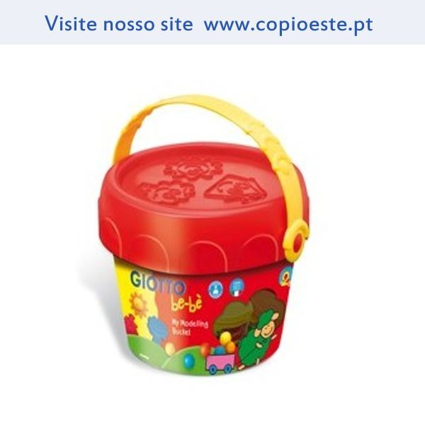 Pasta Modelar Giotto Be-Be (5x100grs,espatula,rolo,m oldes)