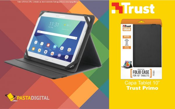 "Capa para Tablet 10"" Trust Primo"