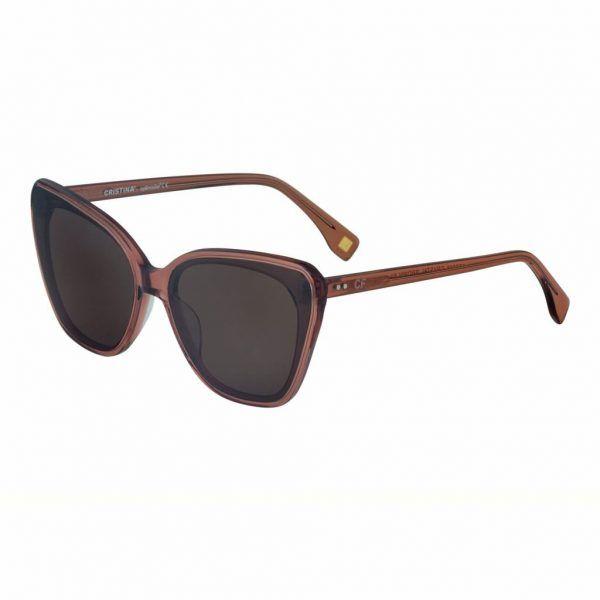 Óculos de Sol Eyewer Collection CRISTINA CF 016 CRYSTAL BROWN