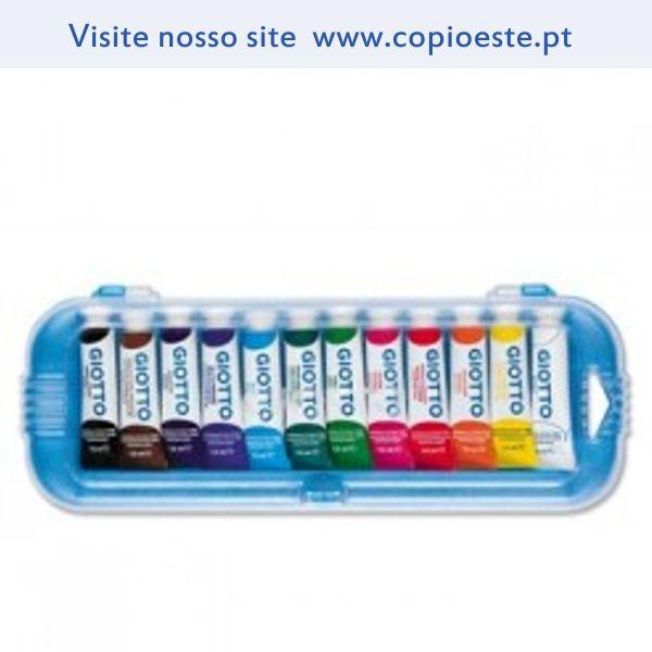 Guache Giotto 7,5ml Cores primarias Cx 12