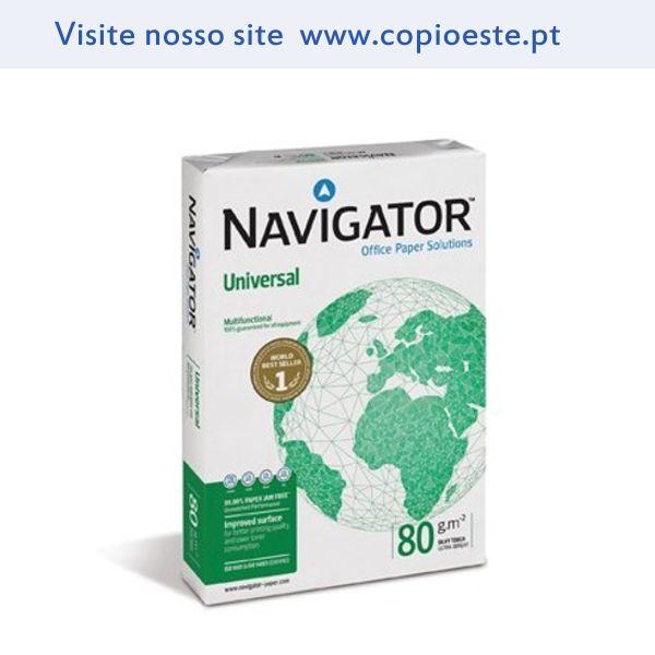 Resma Papel Fotocopia A4 80gr Navigator (Universal) 500 Folhas